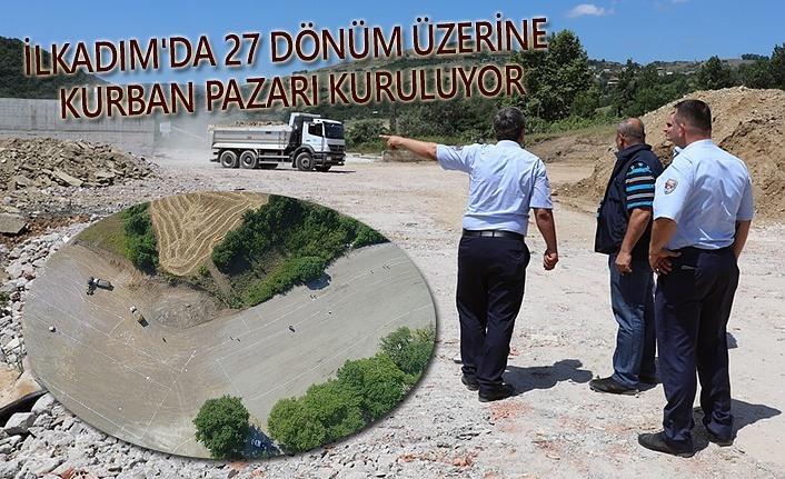 Samsun'da kurban hazırlıkları başladı!