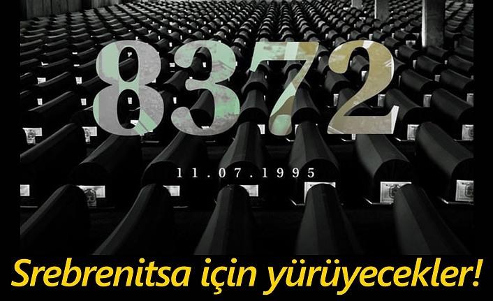 Samsun'da Srebrenitsa için yürüyüş düzenlenecek!