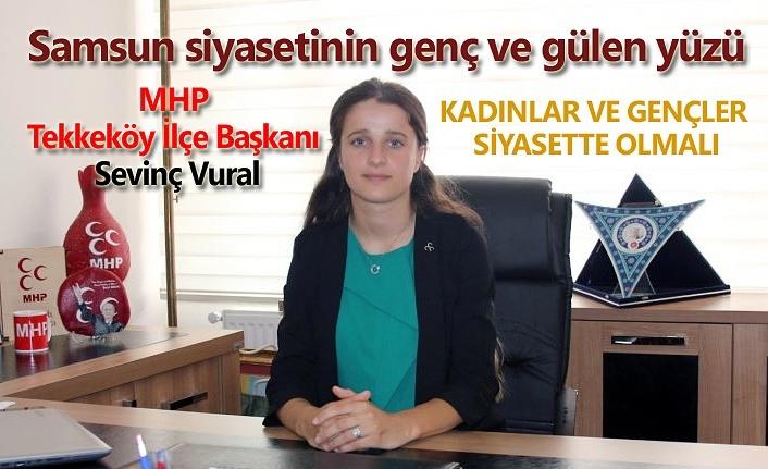 Samsun MHP'de ilk kadın ilçe başkanı; Sevinç Vural