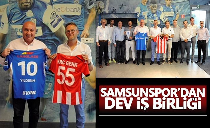 Samsunspor'dan dev işbirliği!
