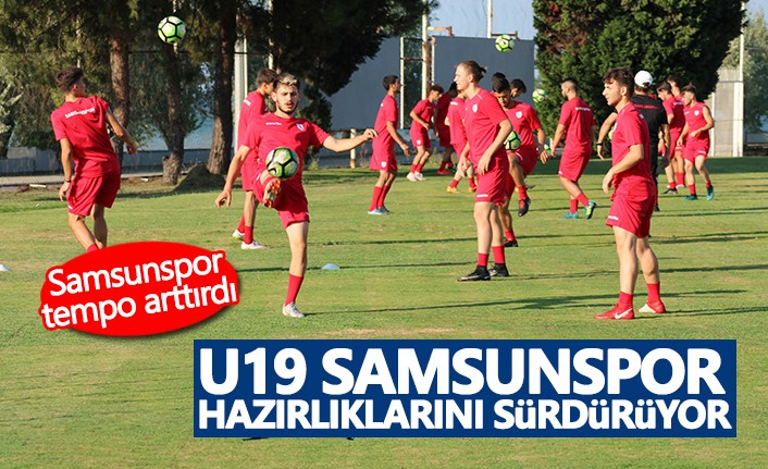 Samsunspor U19 Tempo Arttırdı