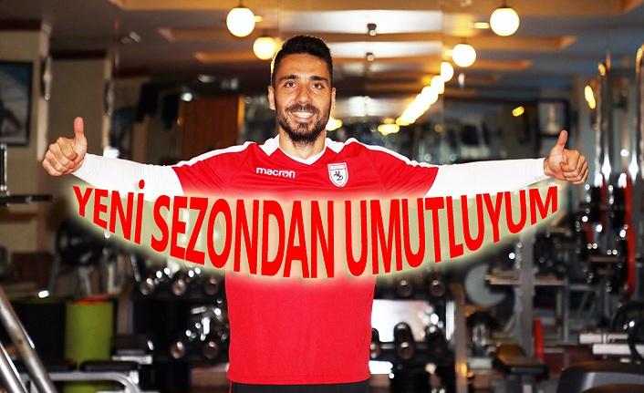 Samsunsporlu Yılmaz Özeren yeni sezondan umutlu