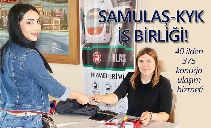 SAMULAŞ'tan 40 ilden 375 konuğa ulaşım hizmeti