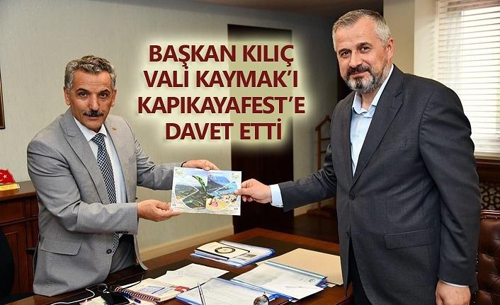 Vali Kaymak'a Kapıkayafest daveti!