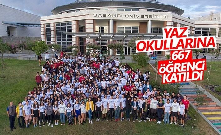 Yaz Okullarına 667 Öğrenci Katıldı