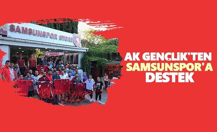 AK Gençlik'ten Samsunspor'a Destek