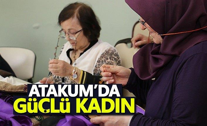 Atakum'da  güçlü kadın!