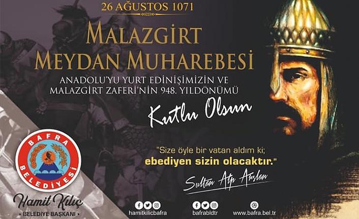 Başkan Kılıç'tan Malazgirt Savaşı yıl dönümü mesajı