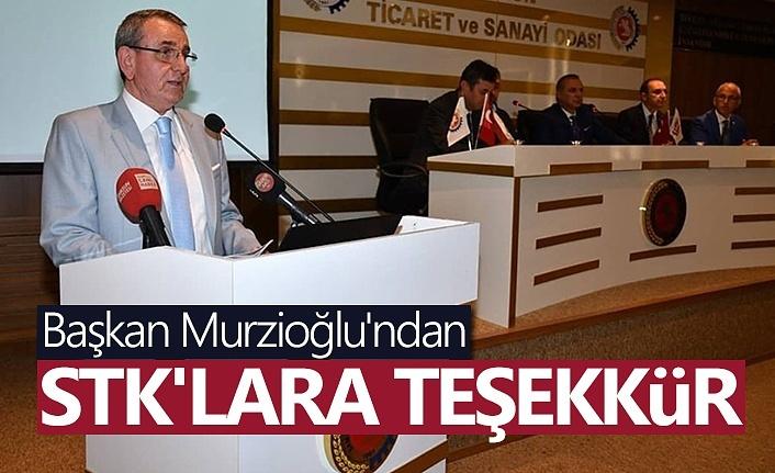 Başkan Murzioğlu'ndan STK'lara teşekkür