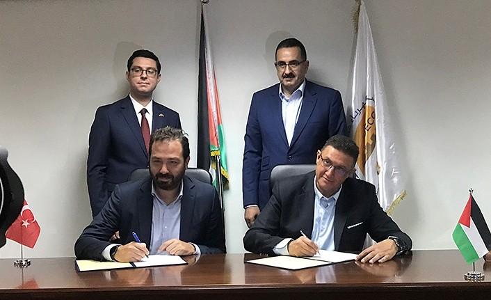 Filistin'in elektriği Zorlu Enerji'den