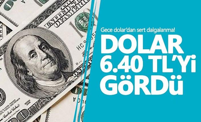 Gece dolar'dan sert dalgalanma! Dolar kuru ne kadar?