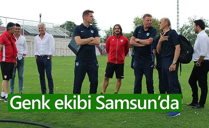 Genk ekibi Samsunspor'da - Samsunspor Haberleri