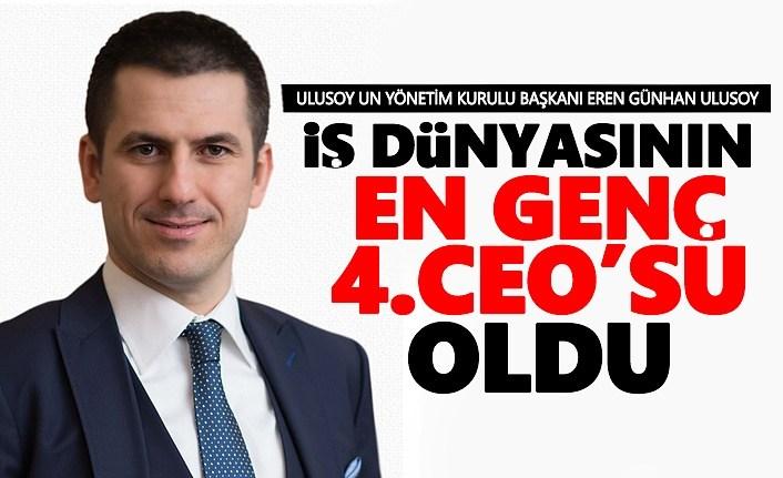 Günhan Ulusoy İş Dünyasının En Genç 4.cü CEO'su Oldu