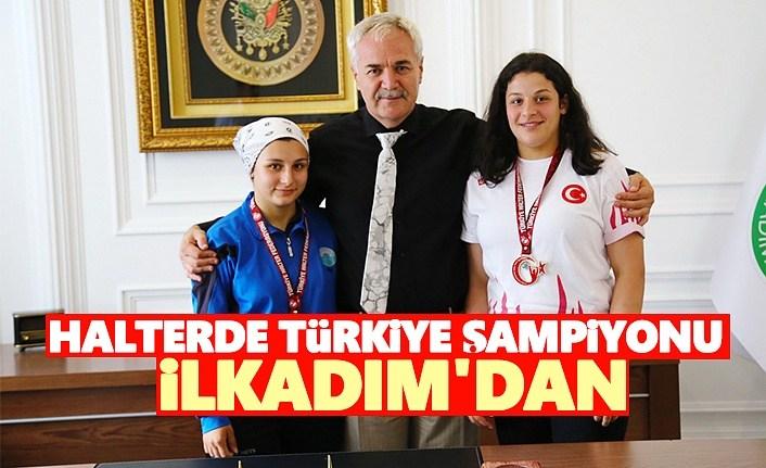Halter'de Türkiye Şampiyonu İlkadım'dan