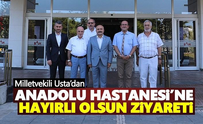 Milletvekili Usta'dan 'Hayırlı Olsun' ziyareti