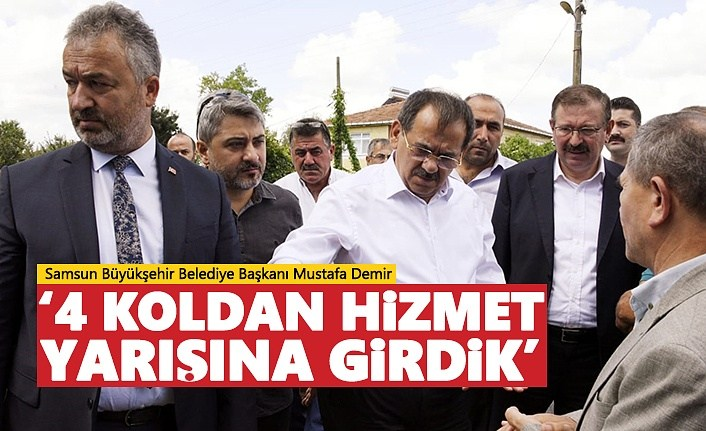 Samsun Büyükşehir 4 Koldan!