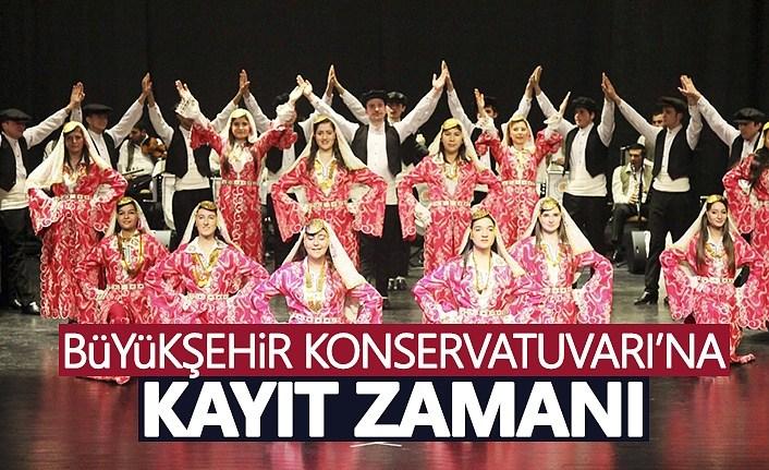 Samsun Büyükşehir Konservatuvarı'nda 'kayıt' zamanı