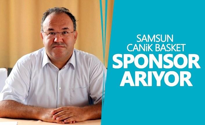 Samsun Canik Basket sponsor arıyor
