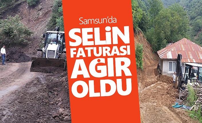 Samsun'da Selin faturası ağır