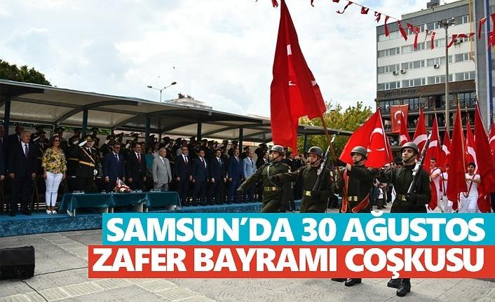 Samsun'da Zafer Bayramı coşkusu