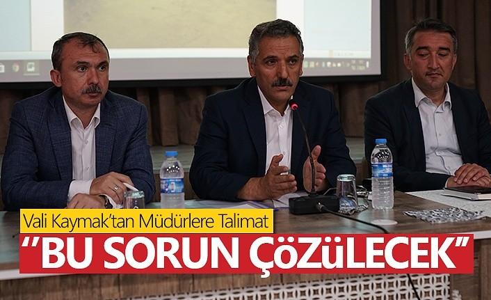 Samsun Valiliği Terme'de AFET İstişare Toplantısı Yaptı