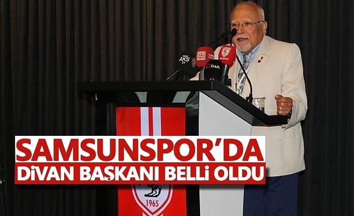 Samsunspor'da Divan Başkanı Belli Oldu!