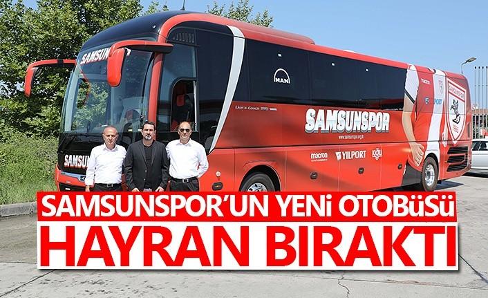 Samsunspor'un yeni sezon otobüsü geldi