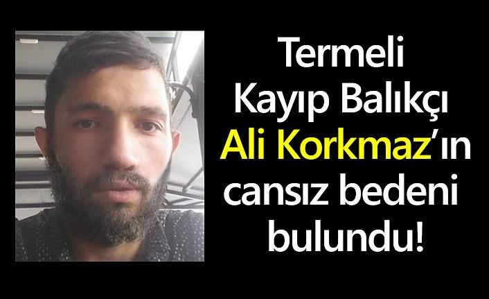 Termeli Kayıp Balıkçı Ali Korkmaz'ın cansız bedeni bulundu!