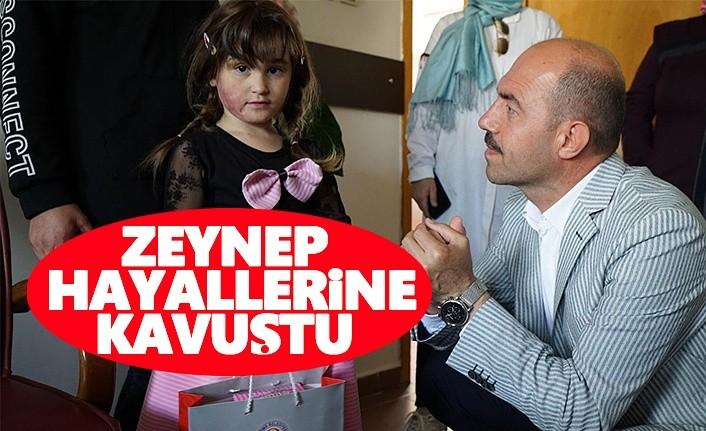 Zeynep Hayallerine Kavuştu