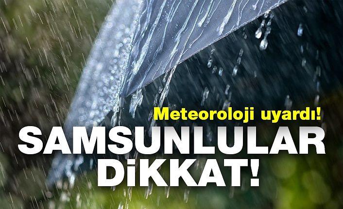 25 Eylül Çarşamba Samsun Hava Durumu
