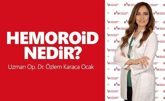 Acaba Hemoroid miyim?