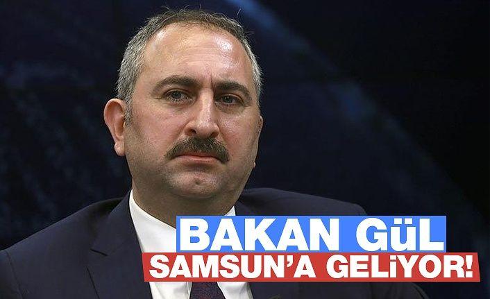Adalet Bakanı Abdülhamit Gül Samsun'a Geliyor!