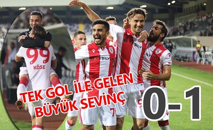 Afyonspor Samsunspor maç sonucu : 0-1
