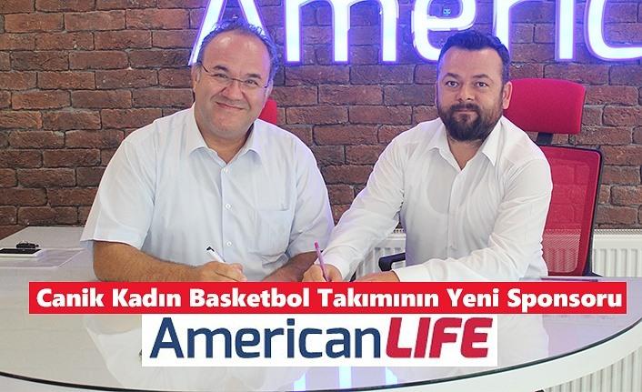 AmericanLIFE ,Canik Kadın Basketbol Takımının Yeni Sponsoru