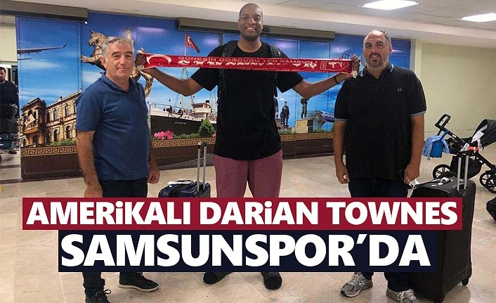 Amerikalı Darian Townes, Samsunspor'da