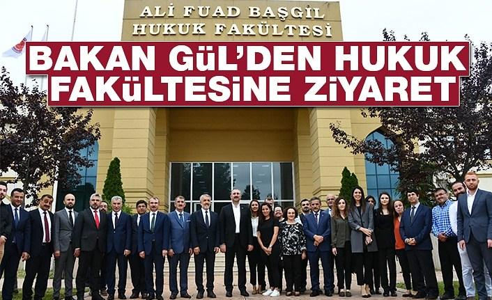 Bakan Abdülhamit Gül'den Samsun'da hukuk fakültesine ziyaret