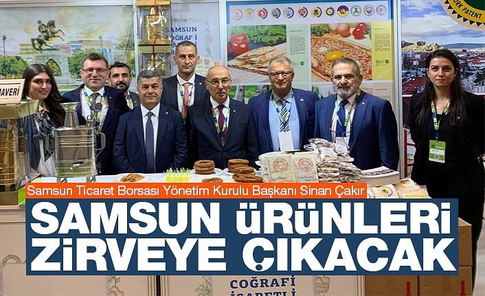 Başkan Çakır: Samsun'un ürünleri zirveye çıkacak