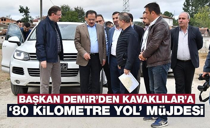 Başkan Demir'den Kavaklılar'a müjde