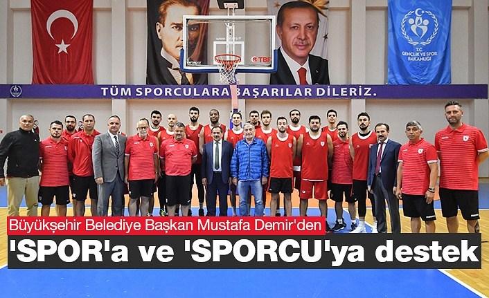 Başkan Demir: Spor Alt Yapısı Çok Önemli