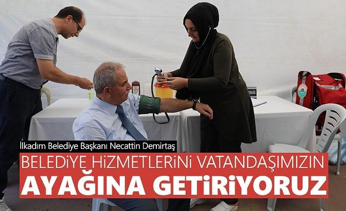 Başkan Demirtaş: Belediye Hizmetlerini Vatandaşlarımızın Ayağına Getiriyoruz
