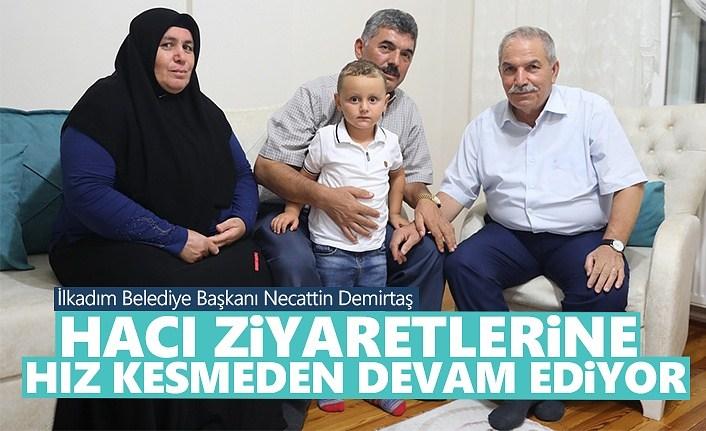 Başkan Demirtaş, Hacı Ziyaretlerine Hız Kesmeden Devam Ediyor