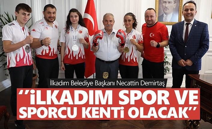 Başkan Demirtaş: İlkadım spor ve sporcu kenti olacak