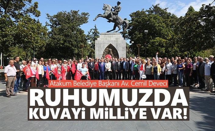 Başkan Deveci: Ruhumuzda Kuvayi Milliye var!