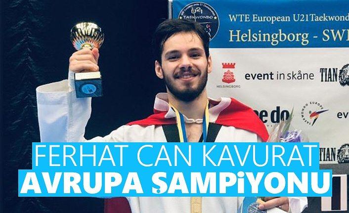 Ferhat Can Kavurat Avrupa Şampiyonu