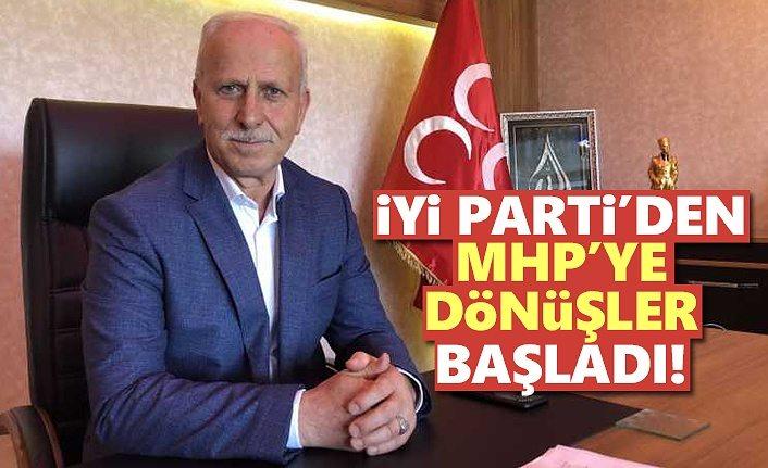 İYİ Parti'den MHP'ye dönüşler başladı!