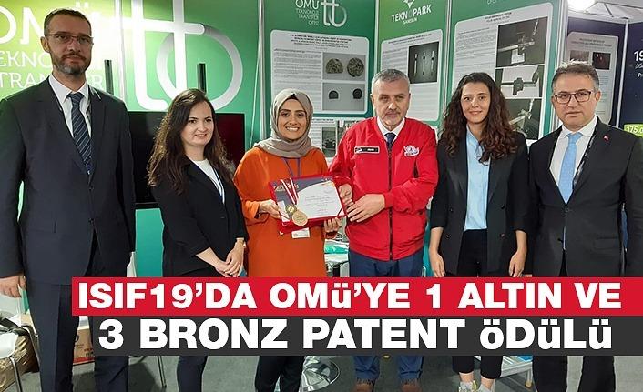 OMÜ'den 4 madalyalı patent başarısı
