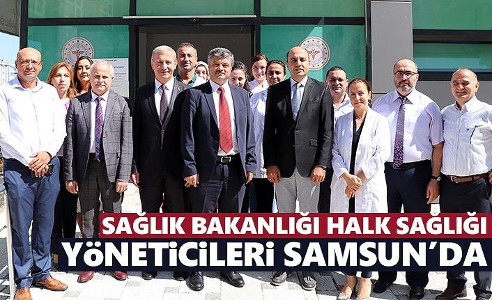 Sağlık Bakanlığı Halk Sağlığı Yöneticileri Samsun'da
