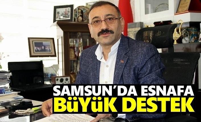Samsun'da esnafa büyük destek