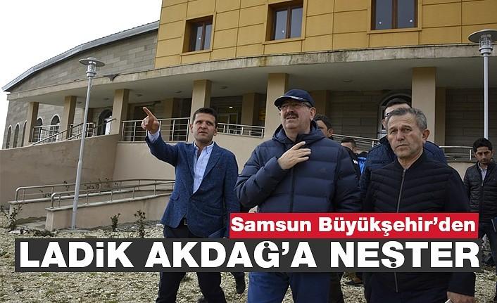 Samsun'da Ladik Akdağ'a neşter!