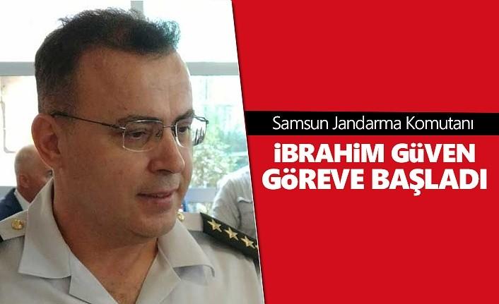 Samsun Jandarma Komutanı İbrahim Güven göreve başladı